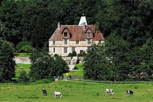 Stock Photo: 1792-75641 France, Calvados, Saint Martin de la Lieue, Domaine Saint Hippolyte