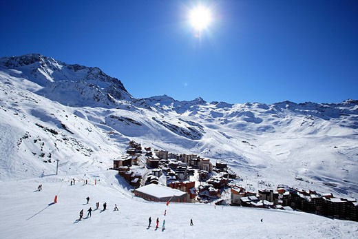 France, Savoie, Val Thorens, property release : Stock Photo