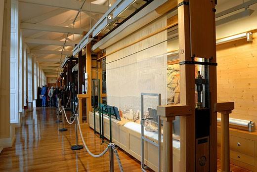 Stock Photo: 1792-76835 France, Paris, Gobelins Factory, tapestry workshop