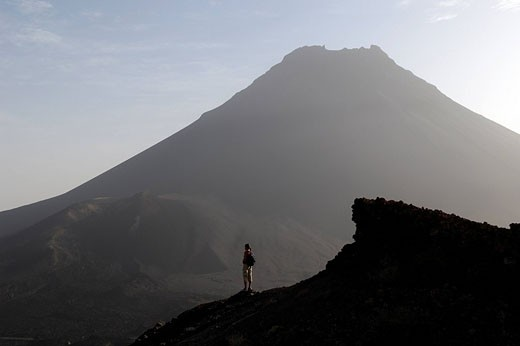 Stock Photo: 1792-77170 Cape Verde, Fogo Island, Pico Volcano 9 281,50 ft