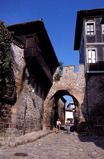 Bulgaria, Plovdiv, old town : Stock Photo
