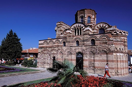 Bulgaria, Black Sea, Nessebar, Christ Pancrator Orthodox Church classified as World Heritage by UNESCO : Stock Photo