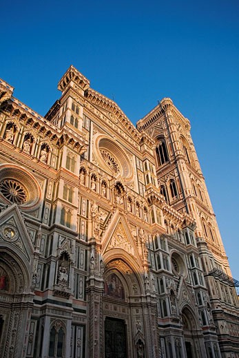 Italy, Tuscany, Florence, Santa Maria del Fiore Cathedral listed as World Heritage by UNESCO : Stock Photo