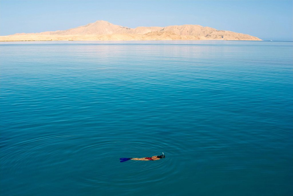 Stock Photo: 1792-80984 Egypt, Red Sea, Tiran Island near Sharm el Sheikh