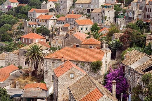 Stock Photo: 1792-81157 Croatia, Dalmatia, Lastovo island, Lastovo village