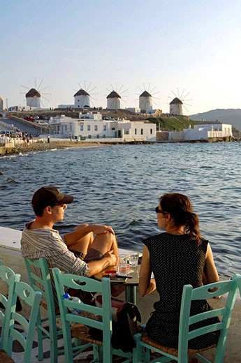 Stock Photo: 1792-81713 Greece, The Cyclades, Mykonos island, Chora village