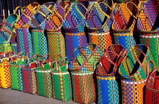Myanmar Burma, Shan state, Taunggyi, baskets : Stock Photo