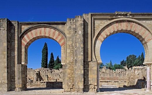 Spain, Andalusia, Cordoba, Al Zahara medina : Stock Photo