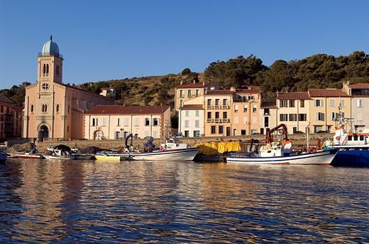 France, Pyrenees Orientales, Port Vendres : Stock Photo