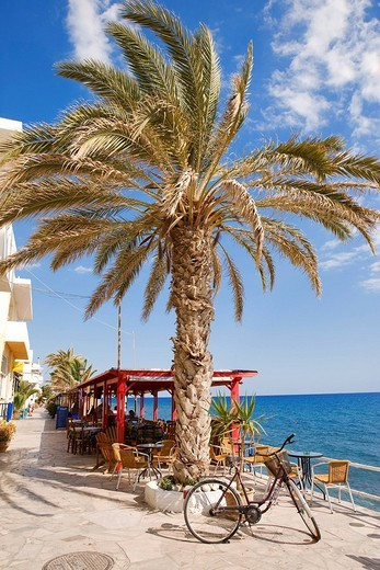 Stock Photo: 1792-87107 Greece, Crete, Myrthos, Seafront