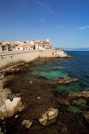 France, Alpes Maritimes, Antibes le vieux : Stock Photo