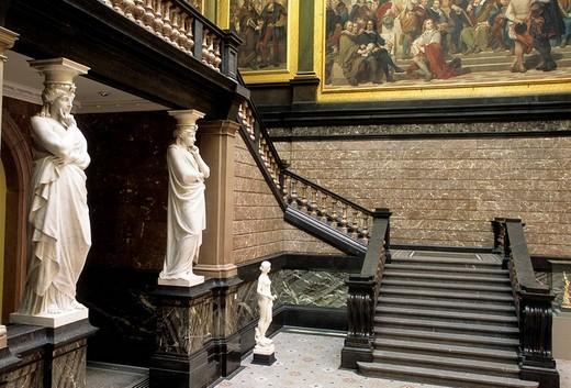 Belgium, Flanders, Antwerp, Fine Arts Museum : Stock Photo