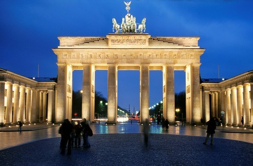 Stock Photo: 1792-96908 Germany, Berlin, Brandenburg Gate