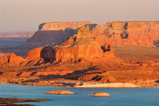 United States, Arizona, Lake Powell : Stock Photo