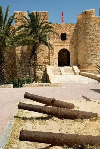 Tunisia, south region, Djerba island, Houmt Souk, Borj El Kebir castle, XVth century : Stock Photo