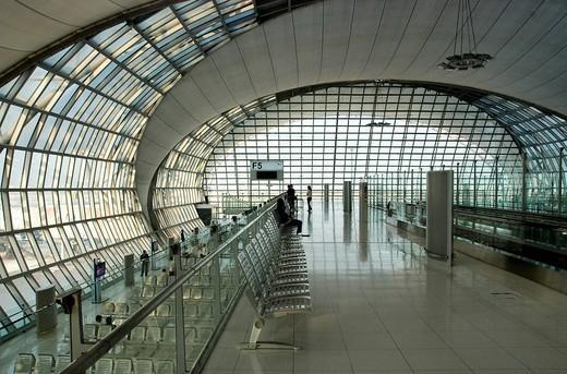 Stock Photo: 1792-99693 Thailand, Bangkok, Suvarnabhumi international airport