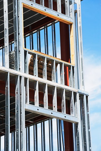 Stock Photo: 1795R-10779 Low angle view of construction site