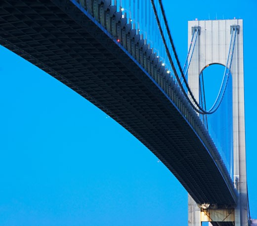 Verrazano Narrows Bridge  : Stock Photo