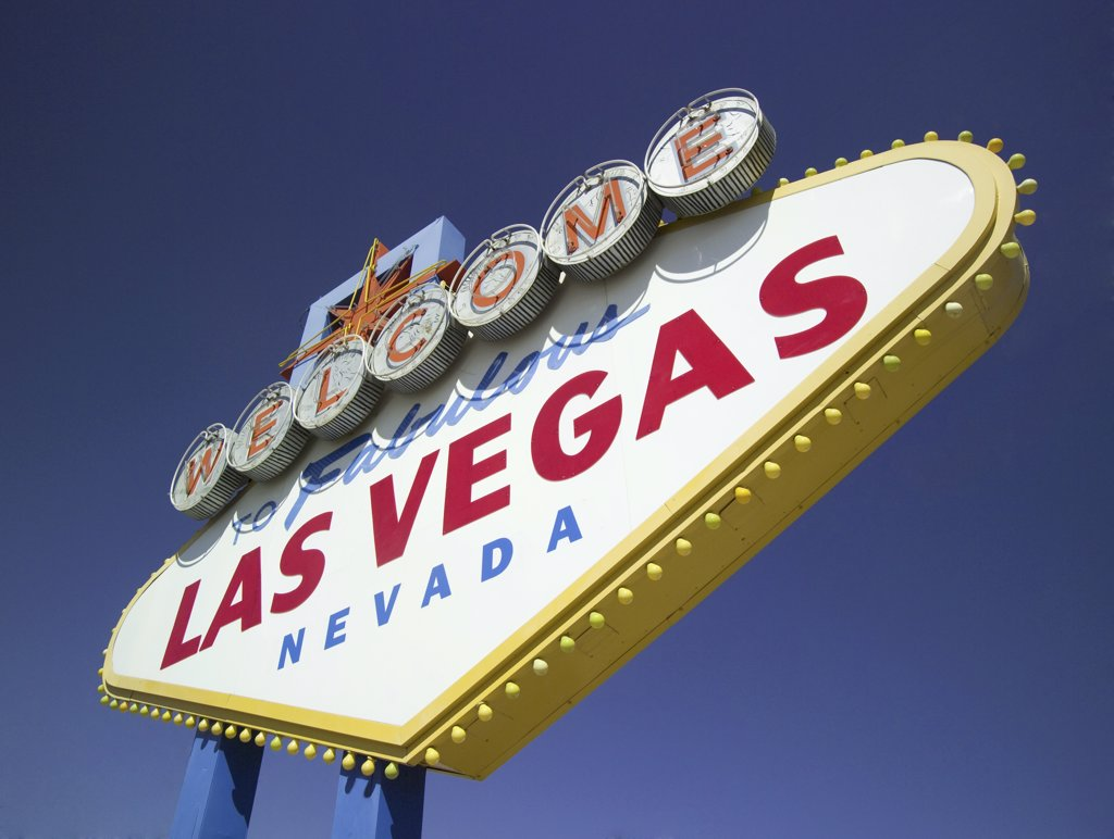 Las Vegas, Nevada welcome sign : Stock Photo