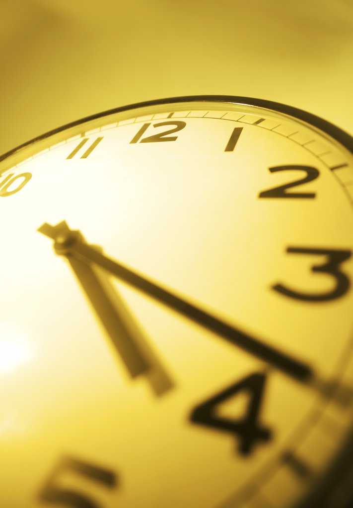 Clock face closeup : Stock Photo