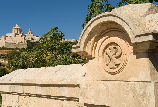 Stock Photo: 1795R-17609 Ancient capital, Mdina, Malta