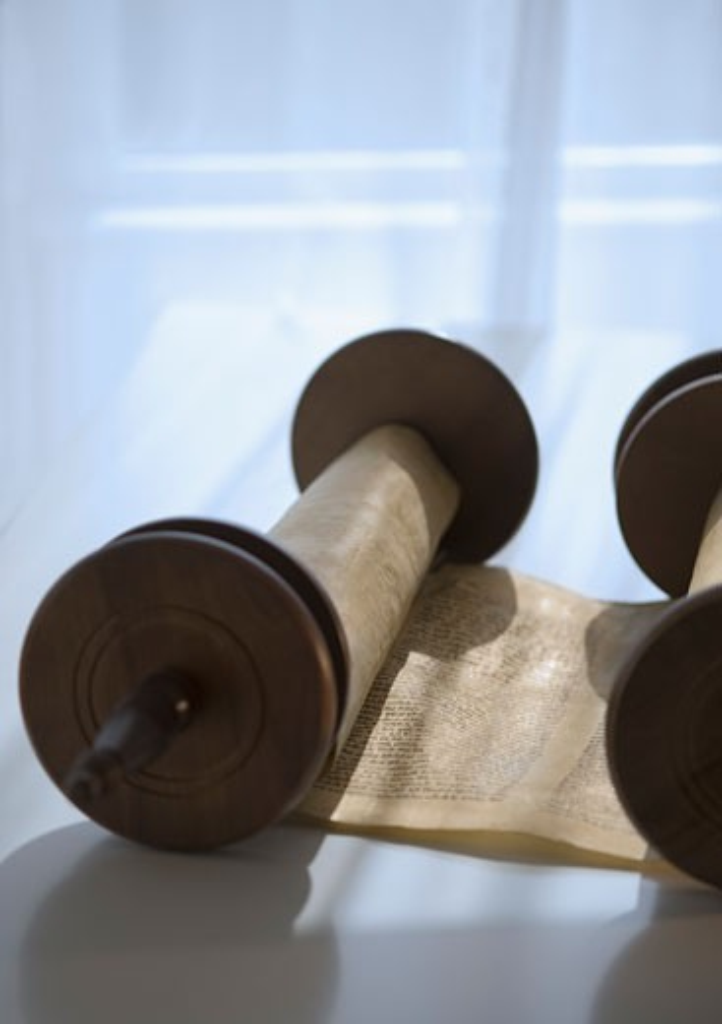 Torah scroll : Stock Photo