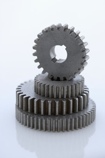 Stock Photo: 1795R-1811 Stack of large gears