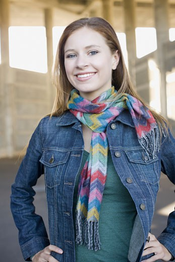 Stock Photo: 1795R-20700 Portrait of young woman