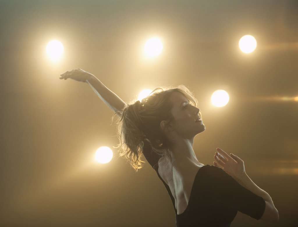 A female ballet dancer : Stock Photo