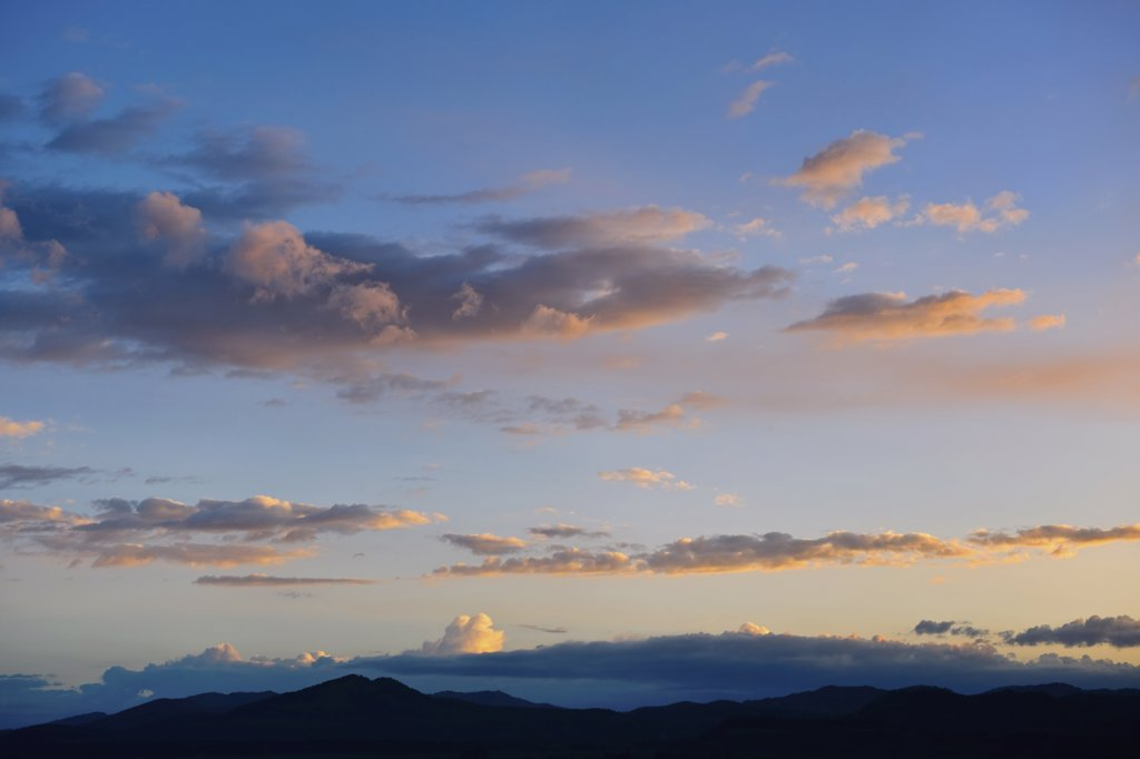 Stock Photo: 1795R-23913 Scenic sky at dusk