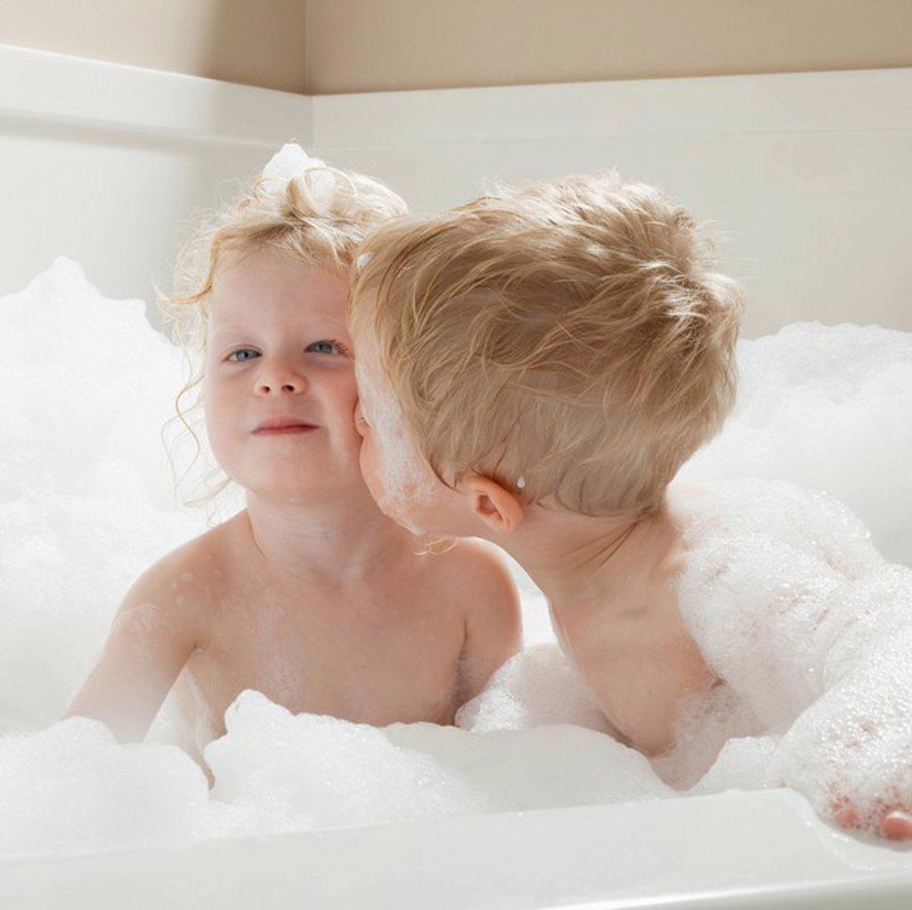 Bath time : Stock Photo