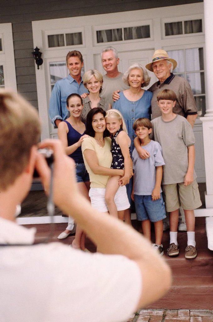 Family portrait : Stock Photo
