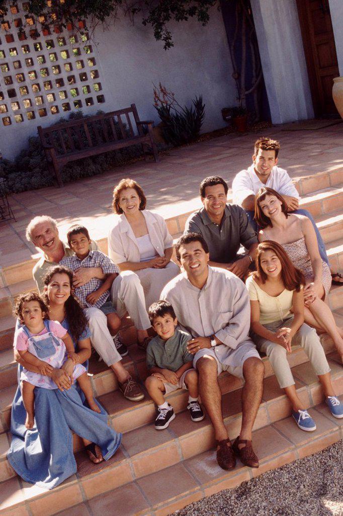 Stock Photo: 1795R-28277 Family portrait
