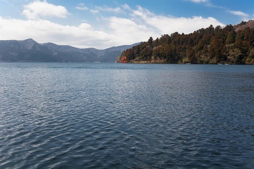 Lake in the countryside : Stock Photo
