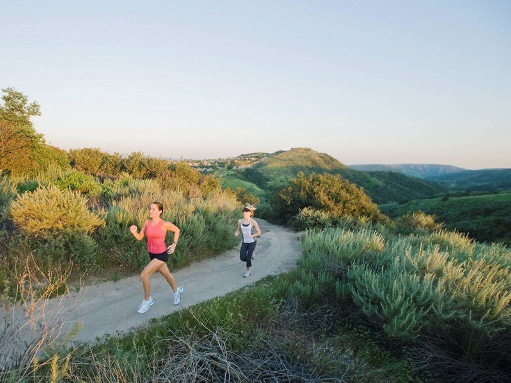 Stock Photo: 1795R-30694 Trail runners