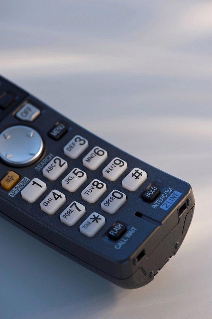 Stock Photo: 1795R-31239 Wireless telephone