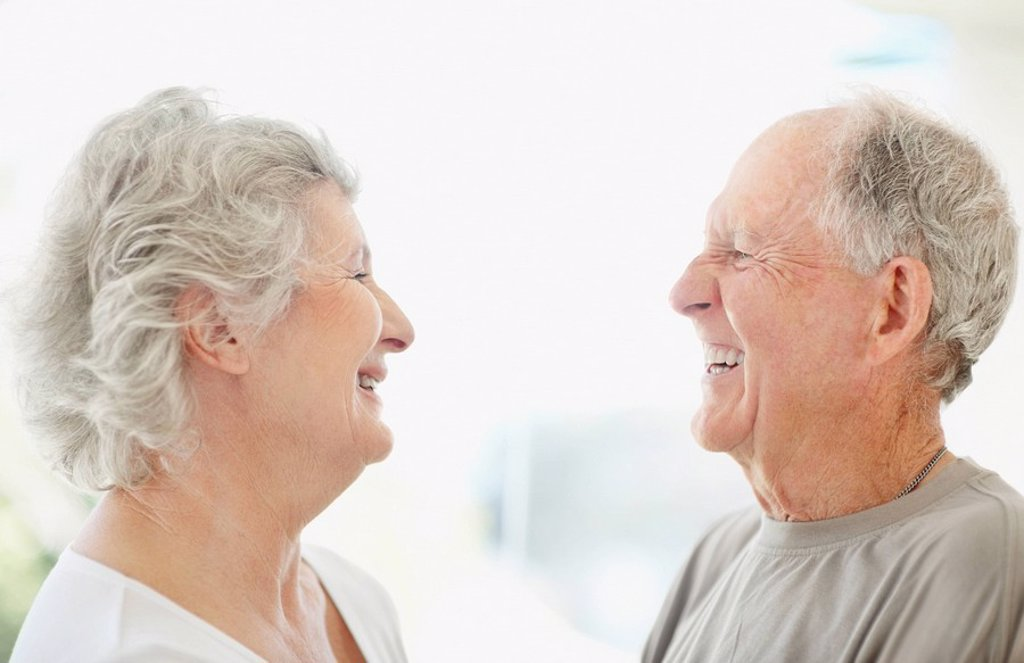 Stock Photo: 1795R-32249 Happy senior couple