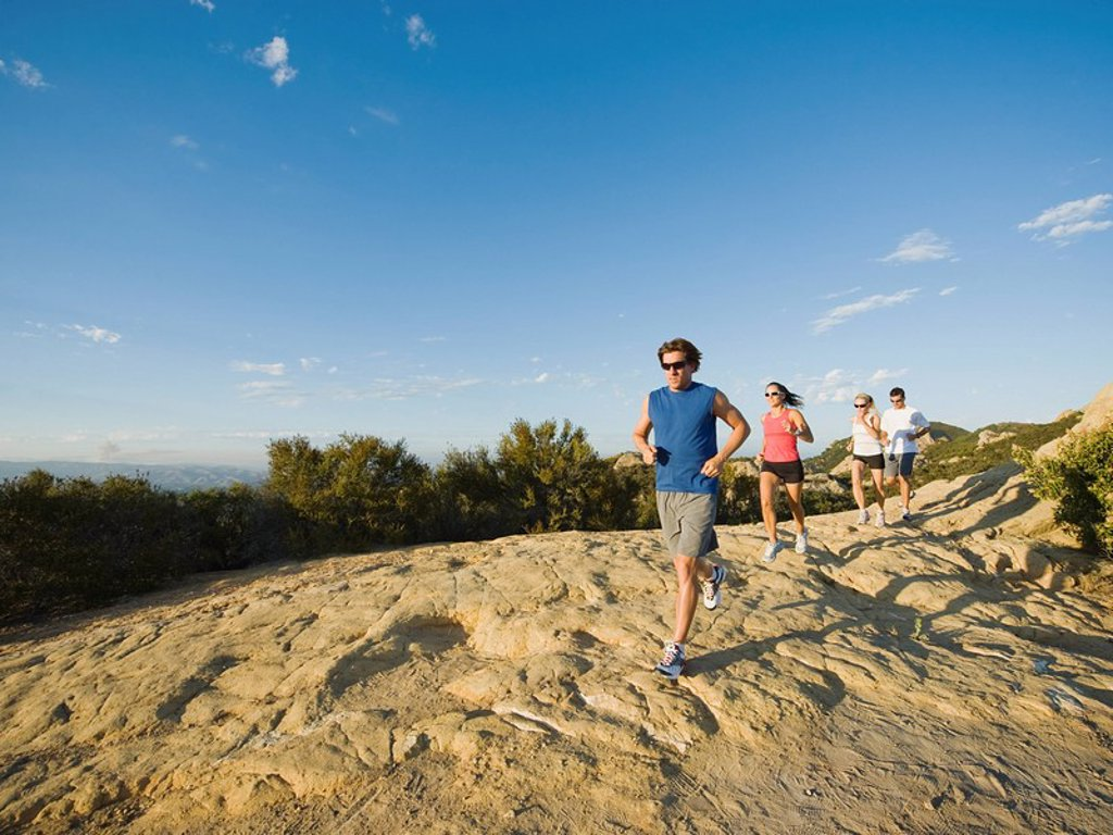 Stock Photo: 1795R-32787 Trail runners