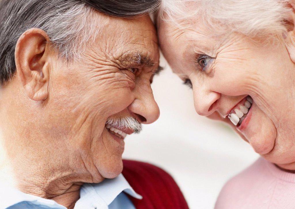 Happy senior couple : Stock Photo