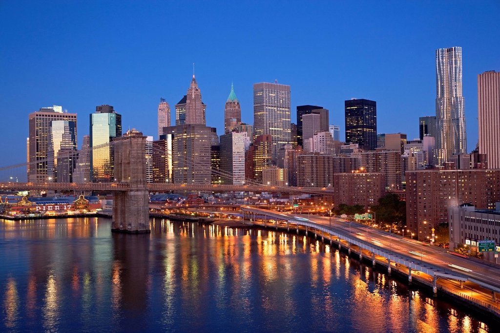 USA, New York City, Cityscape : Stock Photo