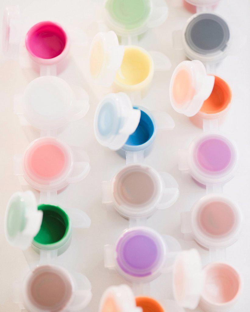 Watercolor paints : Stock Photo