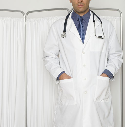 An anonymous doctor : Stock Photo