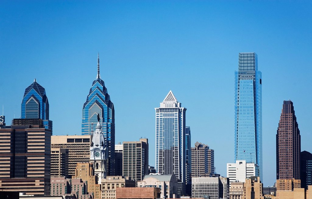 USA, Pennsylvania, Philadelphia, Cityscape : Stock Photo