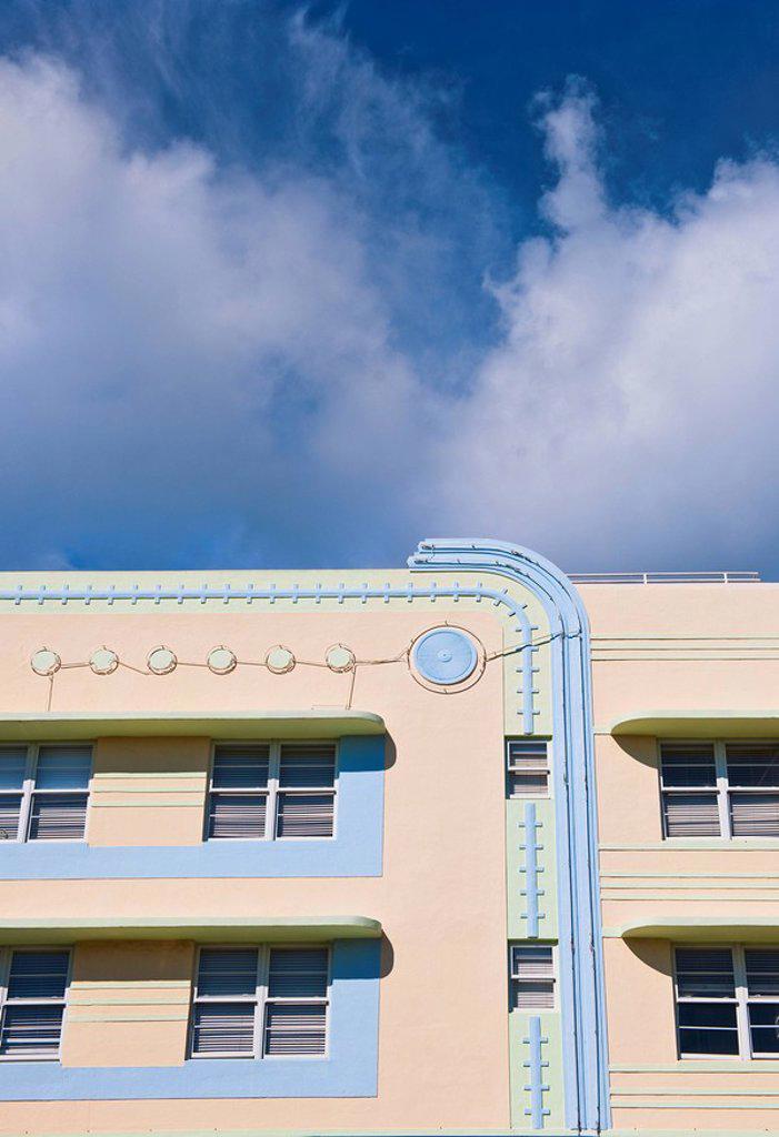 Art deco building : Stock Photo