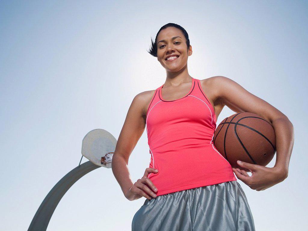 Basketball player : Stock Photo