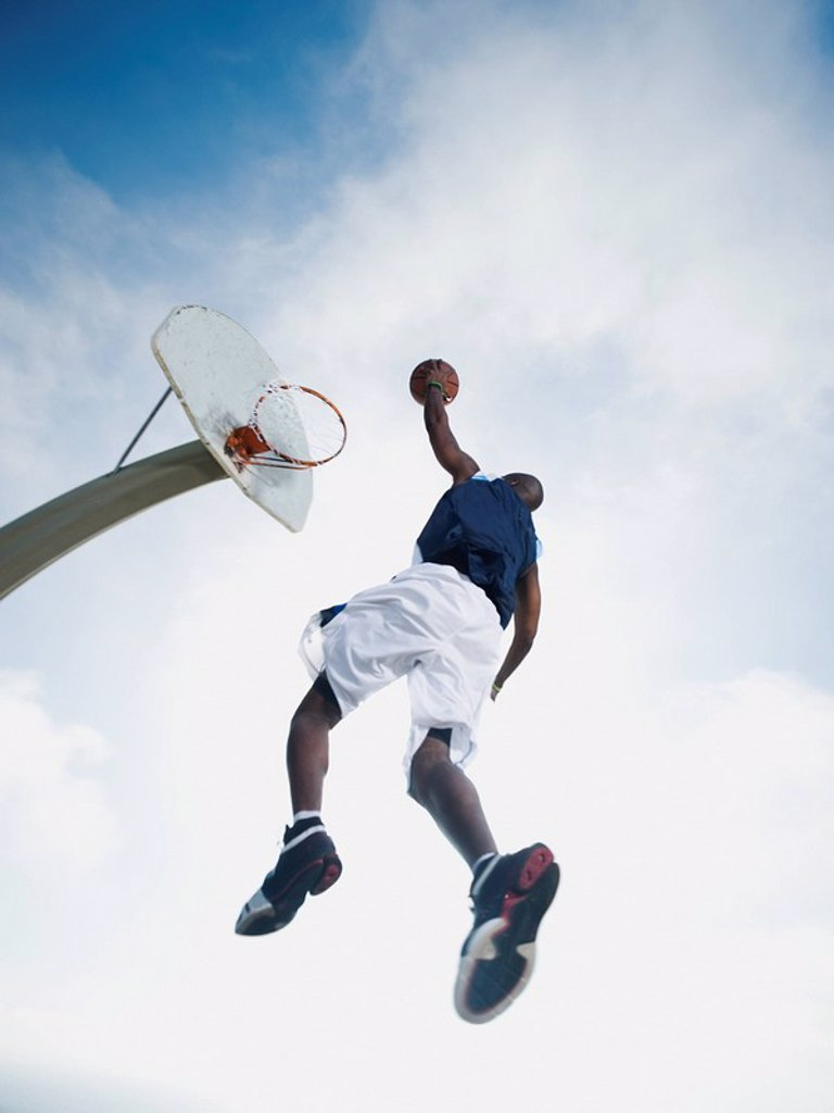 Stock Photo: 1795R-37330 Basketball player