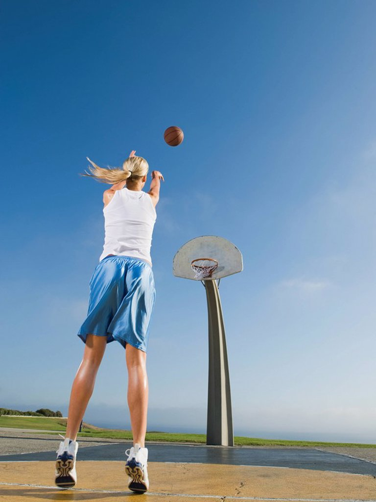 Stock Photo: 1795R-37337 Basketball player