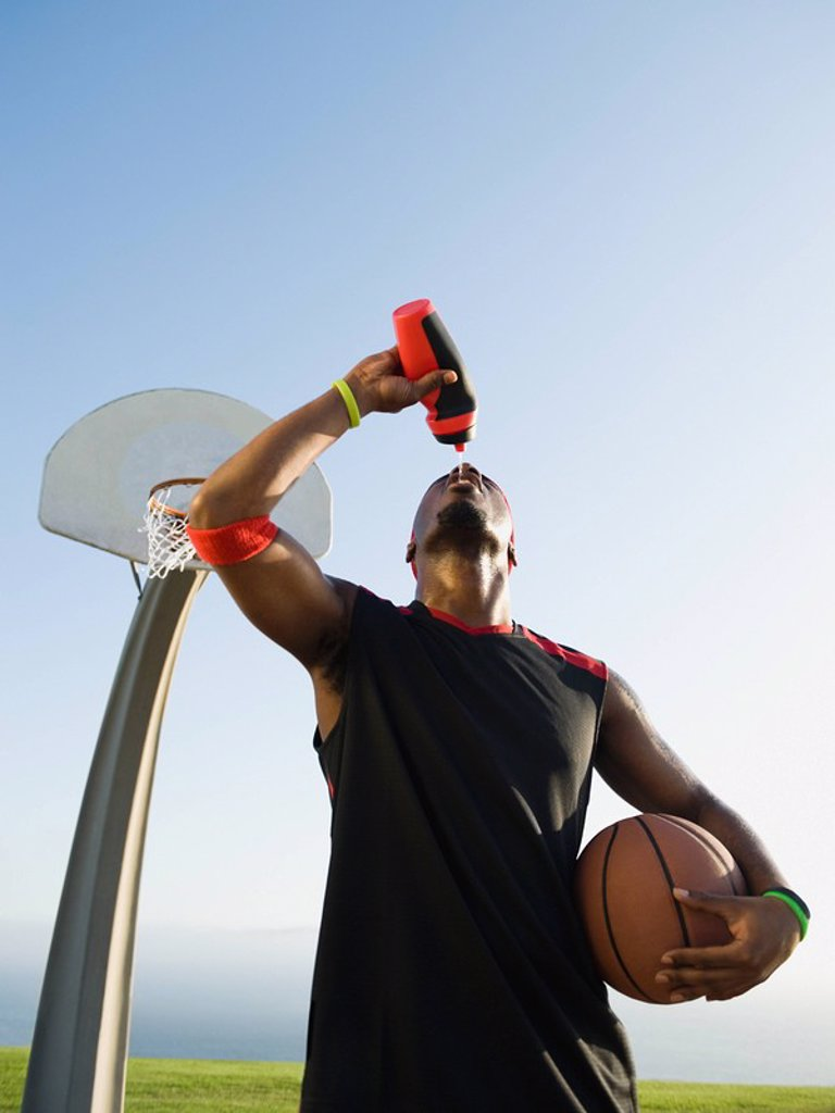 Stock Photo: 1795R-37359 Basketball player
