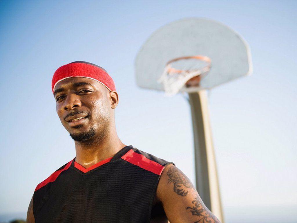 Stock Photo: 1795R-37360 Basketball player