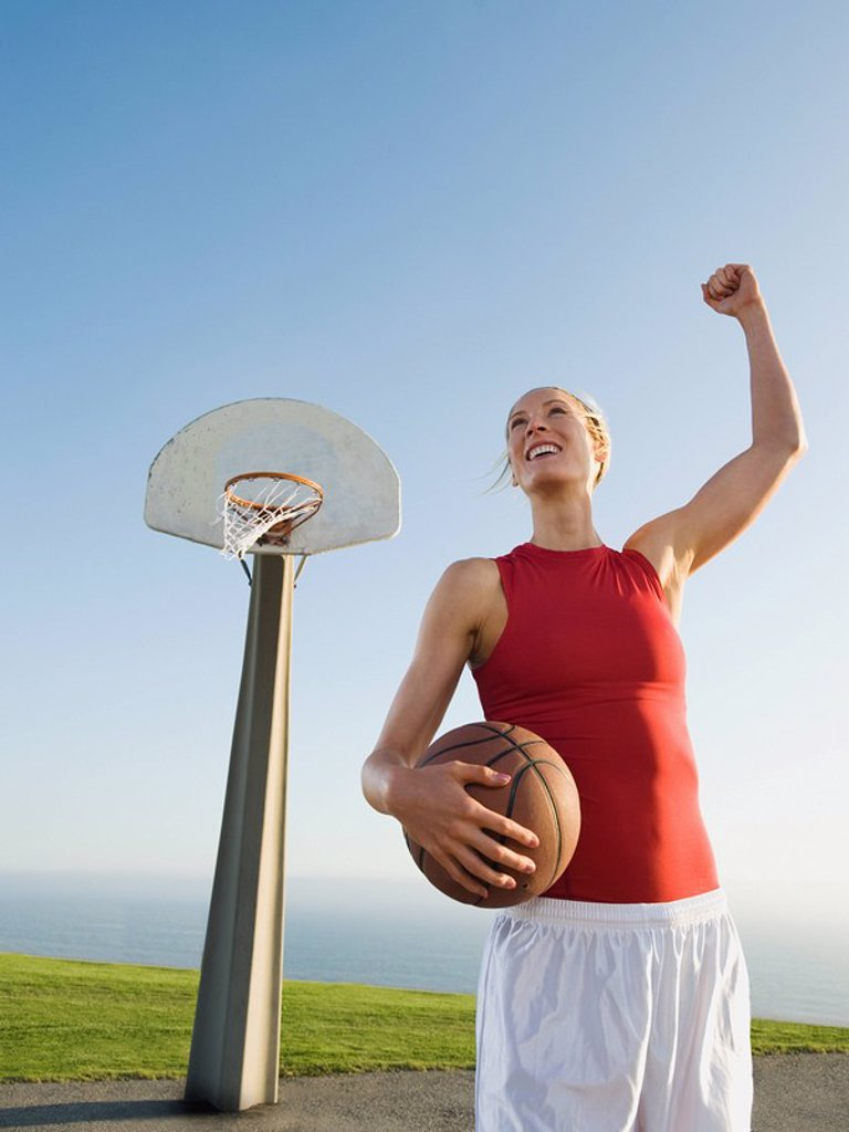 Stock Photo: 1795R-37364 Basketball player